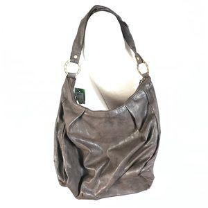 Roxy faux leather hobo purse *flaw